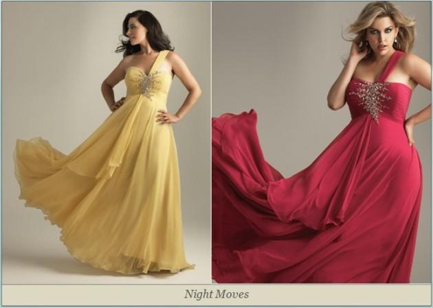 Вечерних платьев для полных женщин