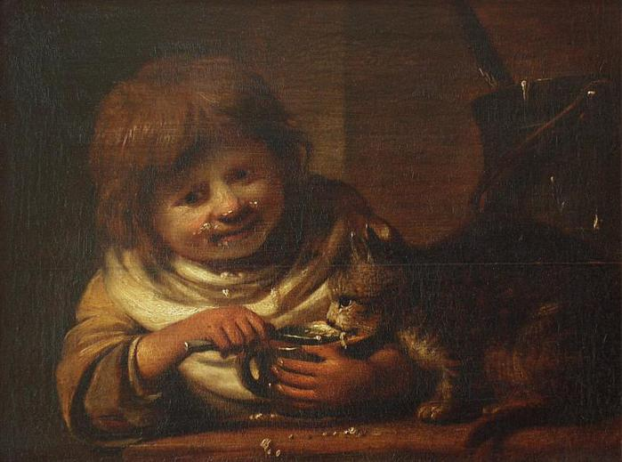 4000579_Child_feeding_a_cat (700x519, 49Kb)