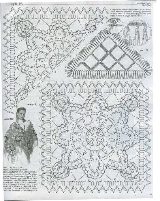 шаль цветная (555x700, 178Kb)