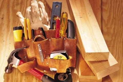 Строим и ремонтируем сами. Минимальный набор инструментов в доме.