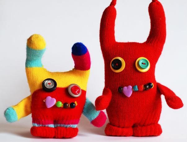 Животные из перчаток своими руками 54
