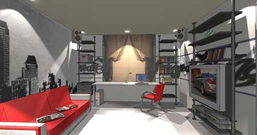Дизайн комнат для мальчиков 15 лет