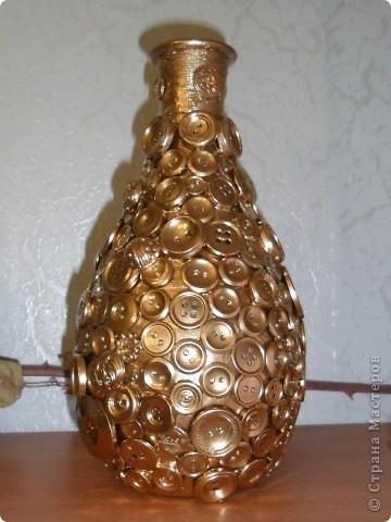 Сделать вазу из стеклянной бутылки вазу своими руками