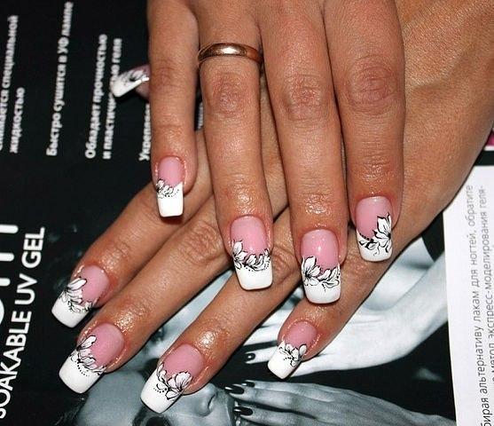 Дизайн ногтей интересный френч