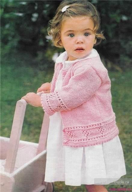Вязание Кофт На Девочек