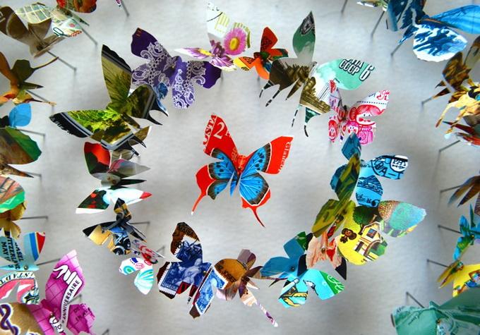 бумажные поделки бабочки 7 (680x475, 162Kb)
