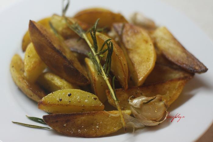 Картофель с сыром и сметаной, запеченный в духовке, ТОП-5