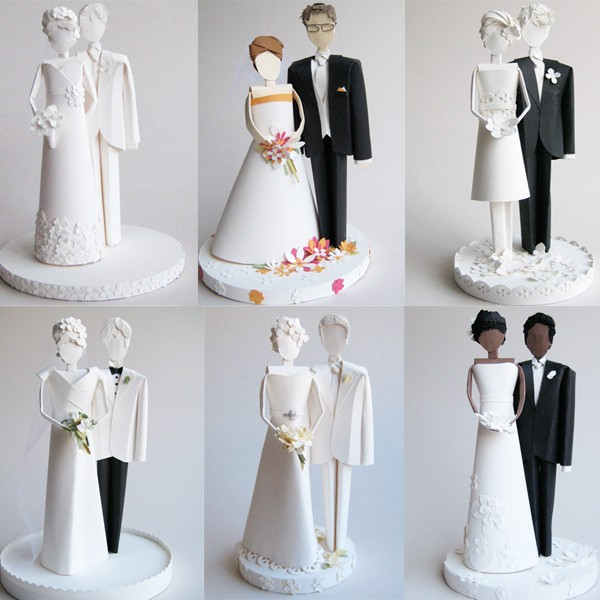 Кукла невеста из бумаги своими руками
