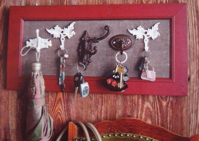 Ключницу своими руками карманных ключей