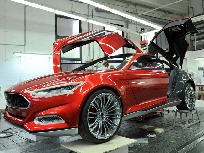 Ford Evos - красивый концепт-кар 4 (650x487, 111Kb)