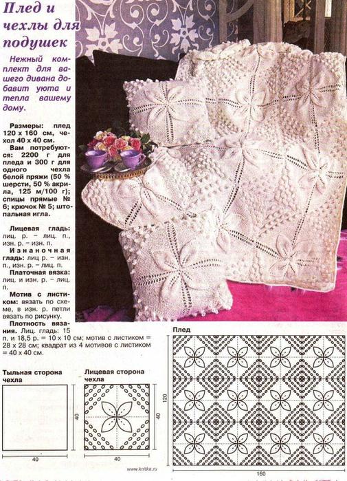 Вязаное детское одеяло для новорожденных своими руками схемы описание фото