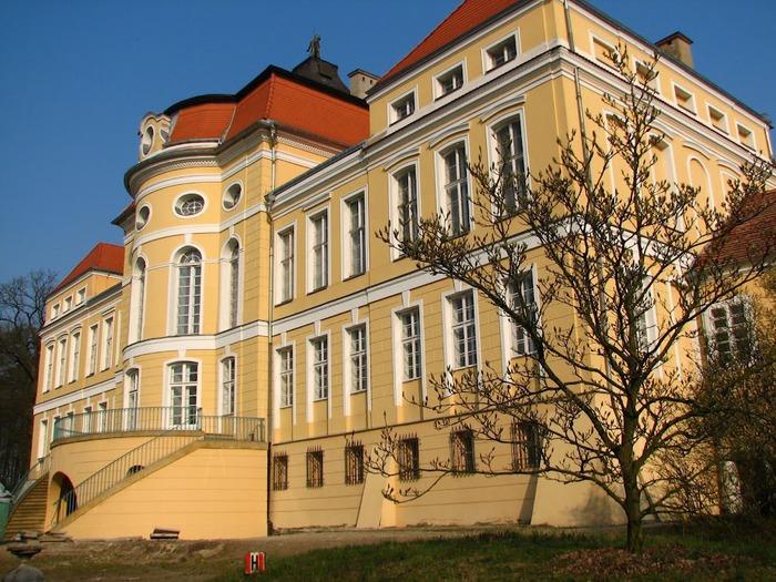Дворец Рачиньских в селении Рогалин 32397