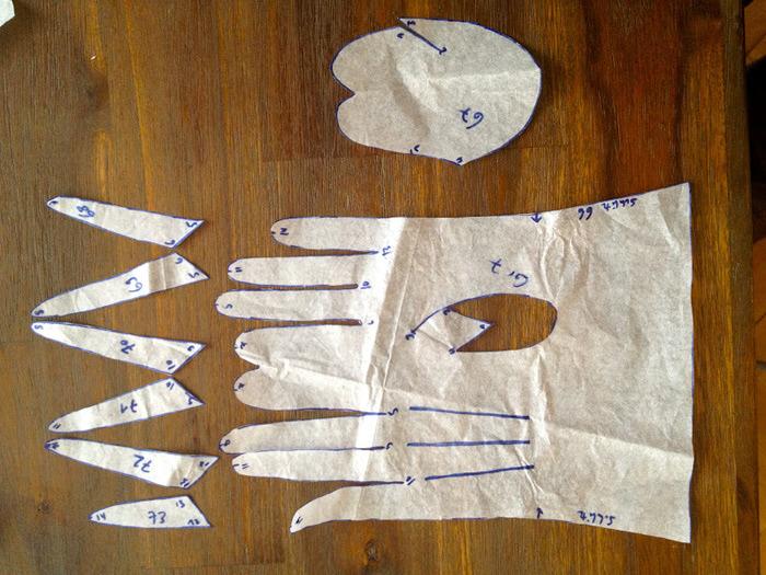 Перчатки своими руками шить