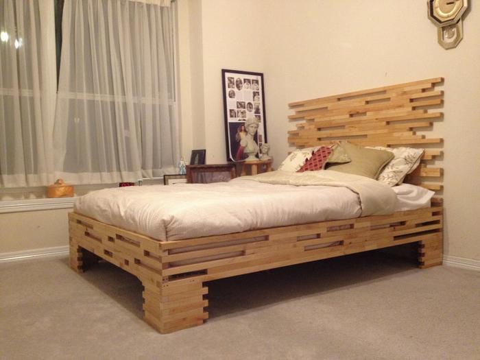 Как сделать кровать видео