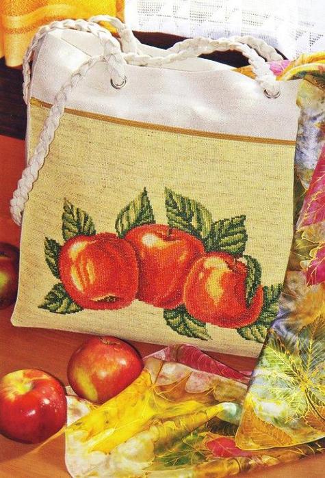 Спелые яблоки (475x700, 458Kb)