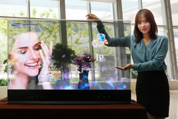 прозрачный зеркальный дисплей самсунг 1 (600x402, 194Kb)