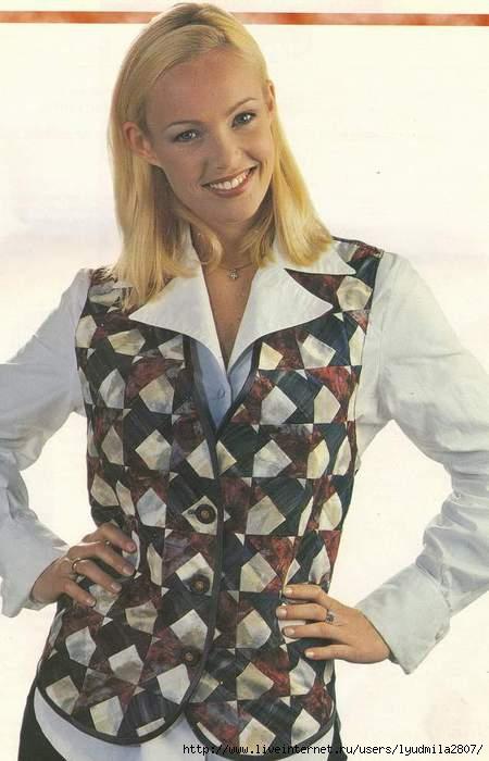 Блузка Из Лоскутов