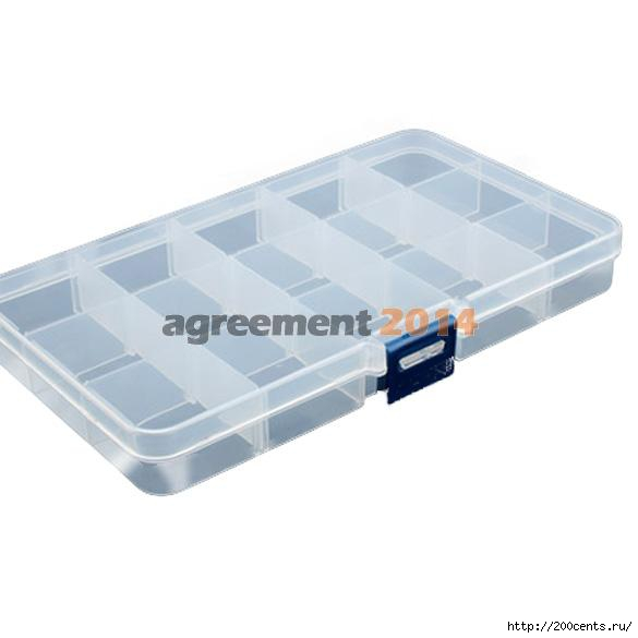 15 grid plastic Transparent jewel case box I ARE4/5863438_15gridplasticTransparentjewelcaseboxIARE4 (585x585, 51Kb)