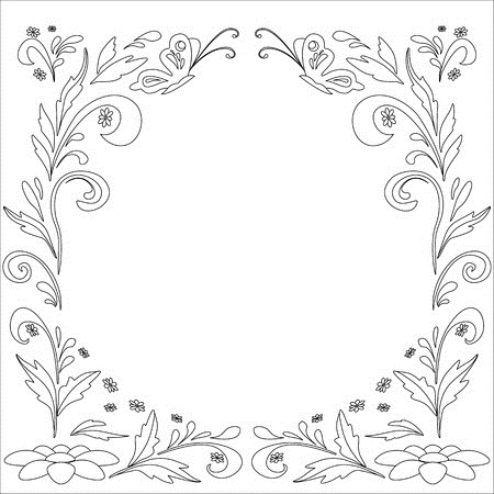 9536710-abstract-floral-vector-background-with-flowers-and-butterflies-contours (450x450, 108Kb)