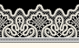 22474081-old-lace-ribbon-on-black-background (300x184, 80Kb)