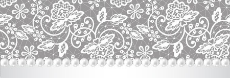 29787818-wedding-invitation-or-greeting-card-with-pearl-frame-on-lace-background (450x154, 65Kb)