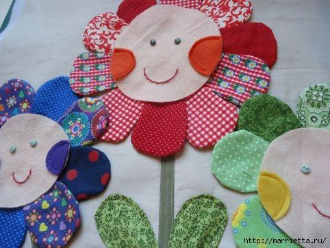 Наволочка с цветочками для детской подушки (7) (482x362, 119Kb)