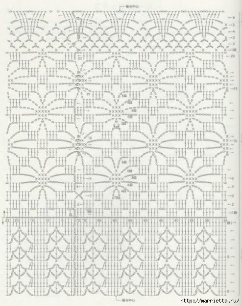 Ажурные гетры крючком (3) (494x623, 212Kb)