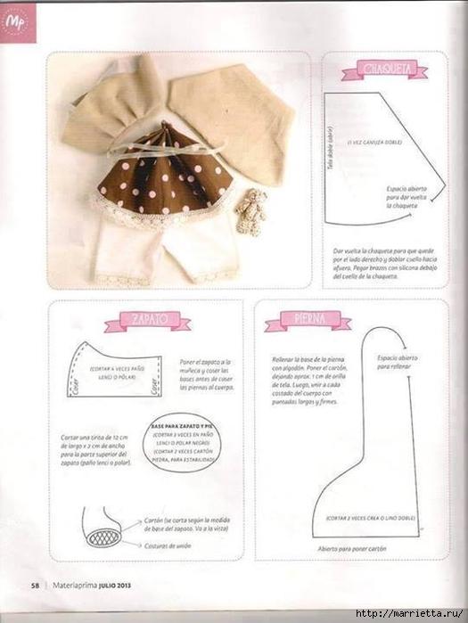 Шьем куколку Diana в одежде и с сумочкой (11) (525x700, 171Kb)
