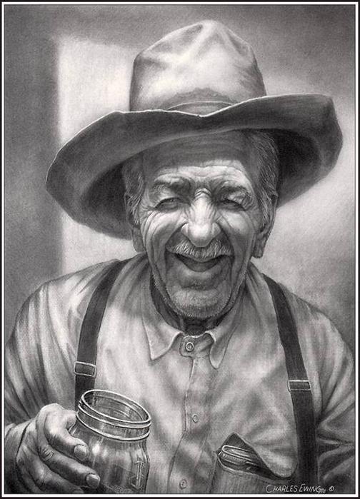 Old Cowboy (504x700, 243Kb)