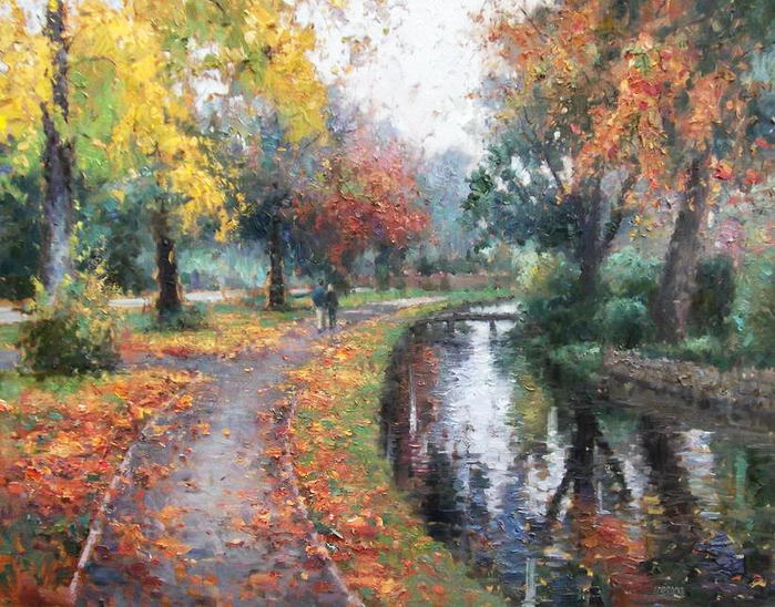 Impressionizm-E.J.Paprocki.-Kartina-Lower-Slaughter-in-Autumn.-30h40-dyuymov-holst-maslo (700x548, 102Kb)