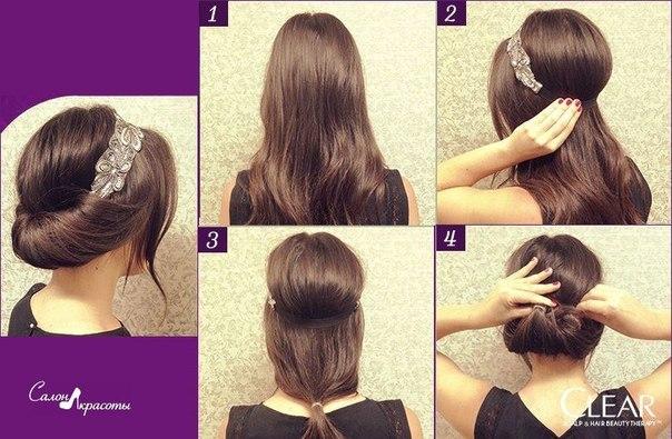 Причёски на жидкие волосы в домашних условиях пошагово