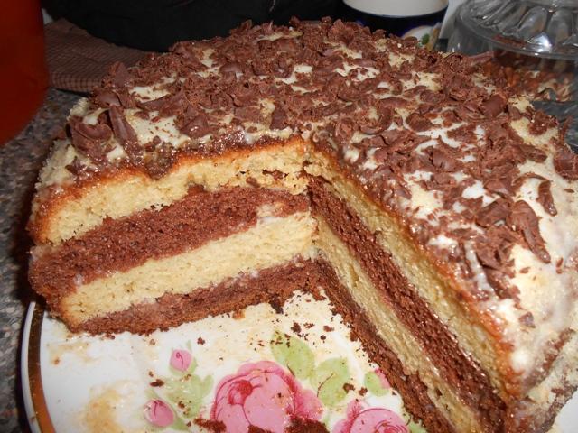 Простой и вкусный тортик в домашних условиях