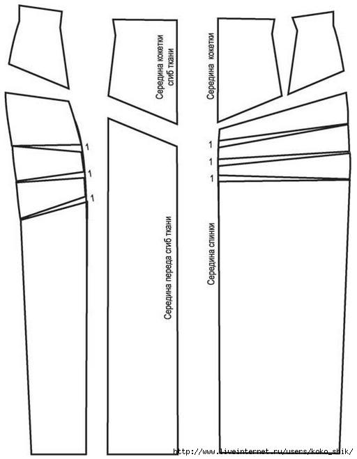 Как сшить юбку трапецию с завышенной талией 62