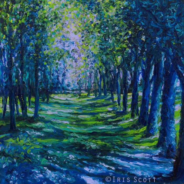 w099+Blue+Evergreens+16X16. (700x700, 367Kb)