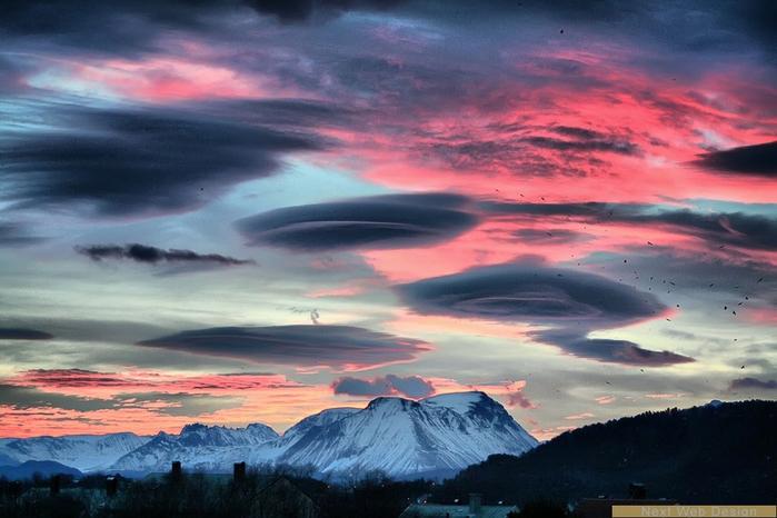 Волшебные облака в Якутии (фантастически сказочные фотографии)