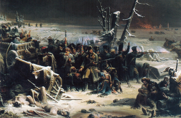 19 Adolphe_Yvon_(1817-1893)_-_Marshall_Ney_at_retreat_in_Russia (700x457, 460Kb)