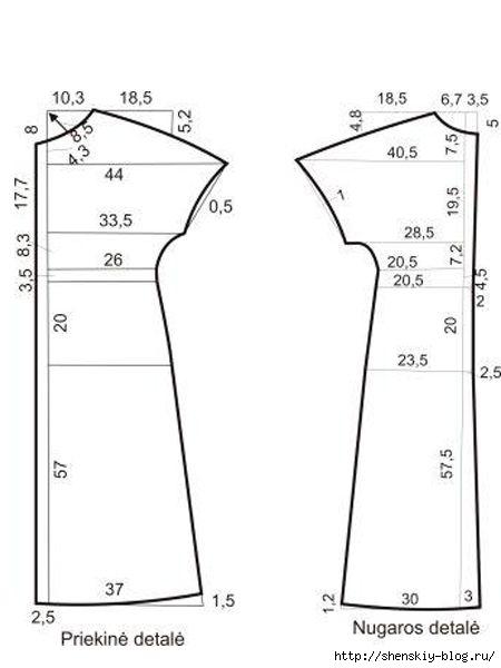 Сшить платье большого размера своими руками выкройки