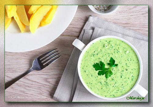 зеленый соус (500x350, 47Kb)