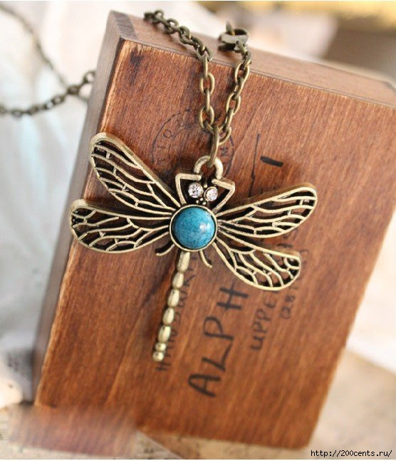 2013 Fashion Bronze Turquoise Dragonfly Charm Pendent Necklace vintage necklace N3/1435319862_2013FashionBronzeTurquoiseDragonflyCharmPendentNecklacevintagenecklaceN3 (556x646, 186Kb)