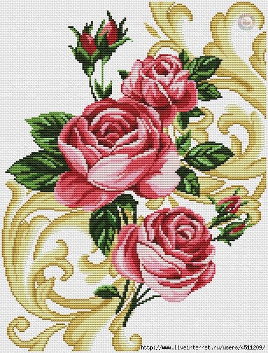 Roses (530x700, 449Kb)