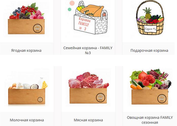 корзины сборные и фруктовые (700x497, 275Kb)