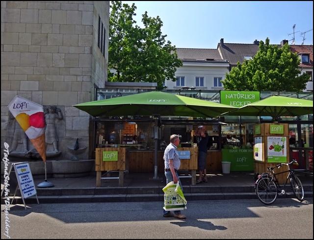 Дюссельдорф, городской рынок