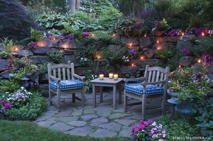 Уютные уголки в саду своими руками фото 41