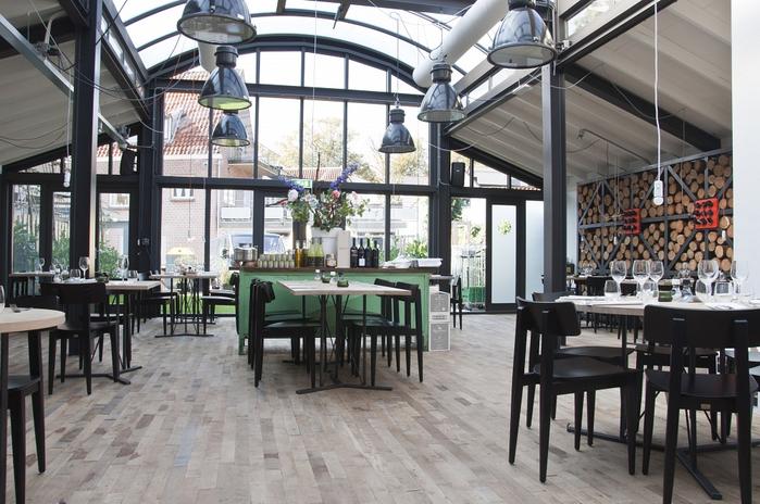 дизайн интерьера ресторана Fabbrica Bergen