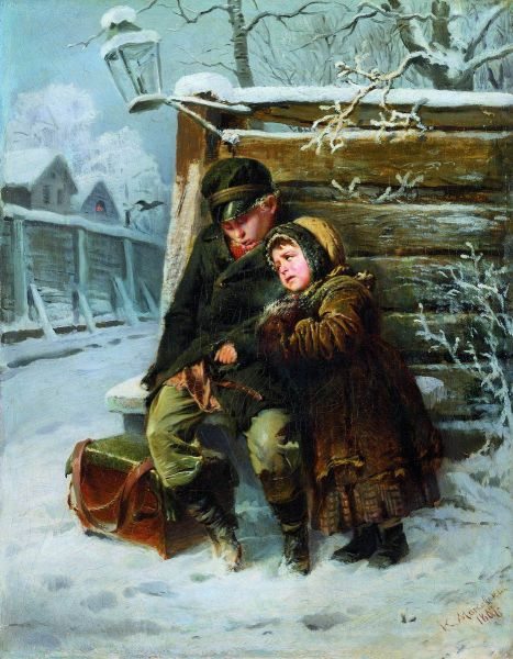 В 1863 году Маковский наряду с