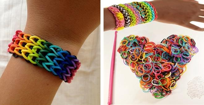 Как сделать браслеты своими руками из резинок