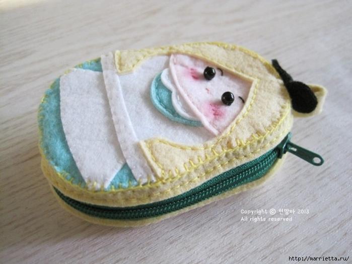 Детский кошелек-куколка из декоративного войлока (30) (700x524, 227Kb)