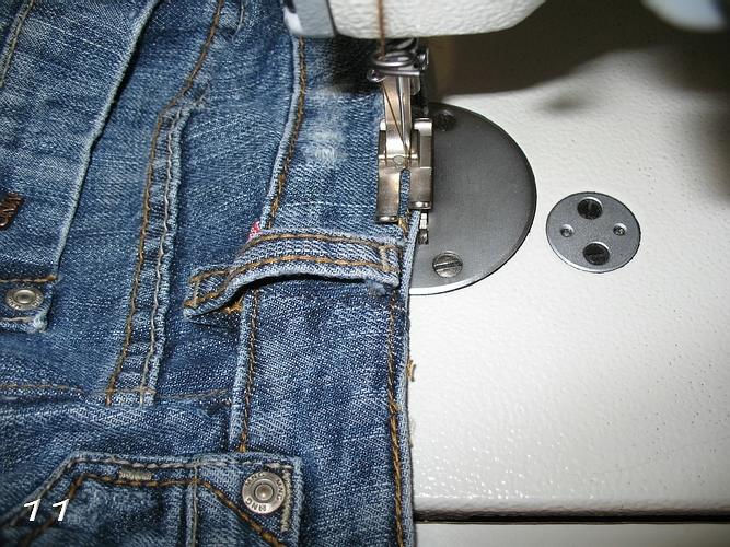 Ушить джинсы мастер класс - Lumalive