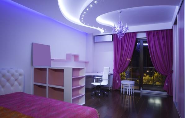 освещение комнаты/4348076_komnatapostelshtoryokno (596x380, 57Kb)