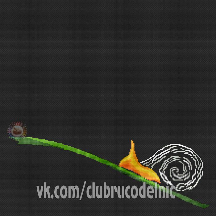 Flaming snail (700x700, 339Kb)